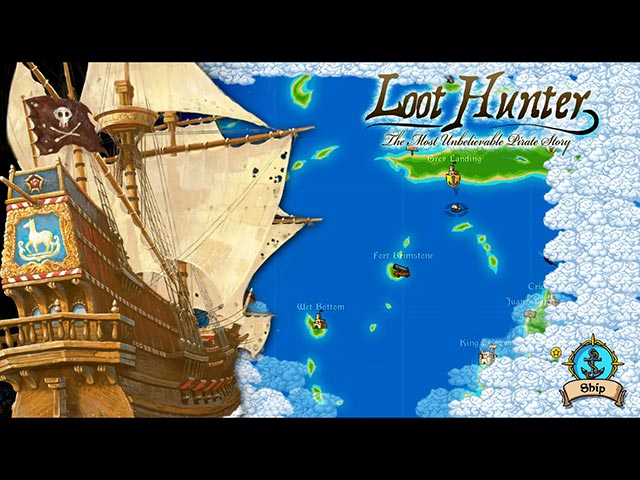 loot hunter: the most unbelievable pirate story screenshots 1