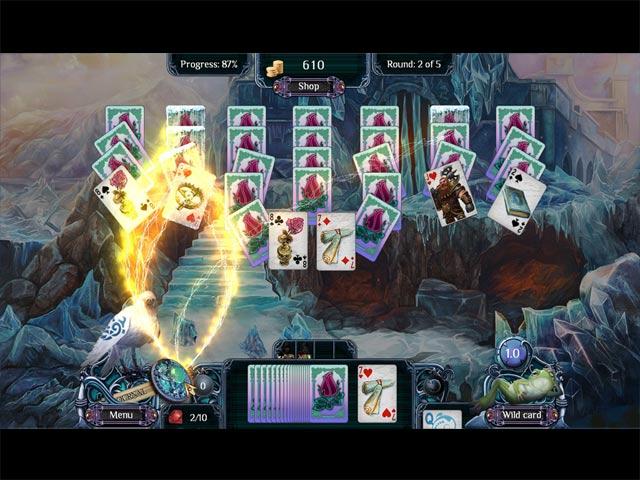 the far kingdoms: winter solitaire screenshots 2