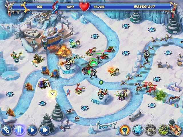 dino r-r-age defense screenshots 1