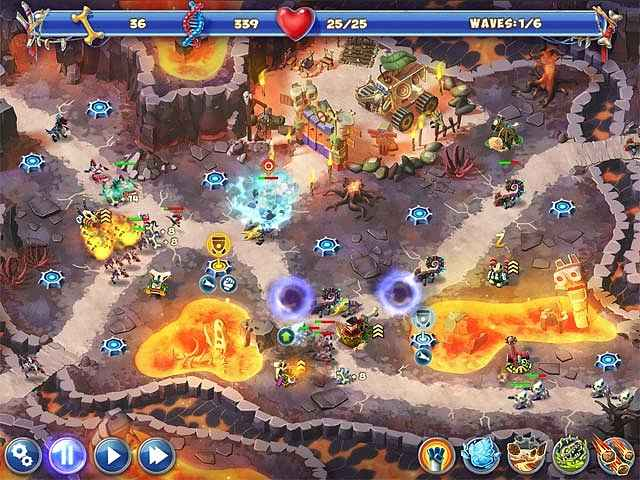 dino r-r-age defense screenshots 3