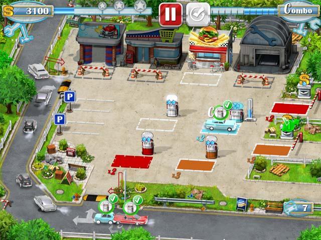 rush hour! gas station screenshots 2