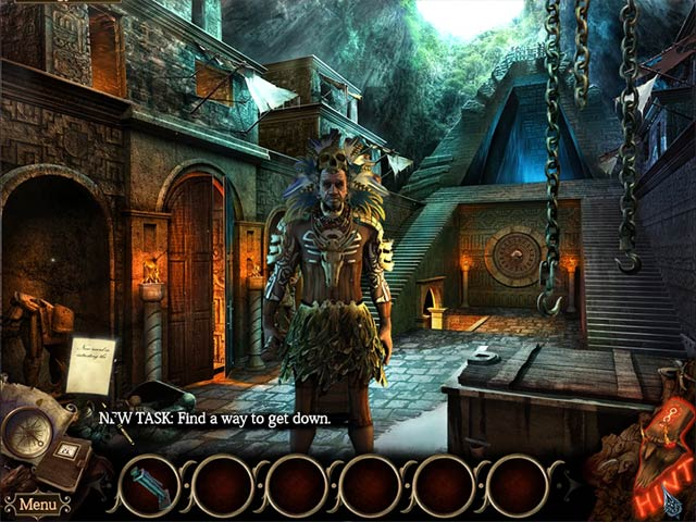 the cursed island: mask of baragus screenshots 3