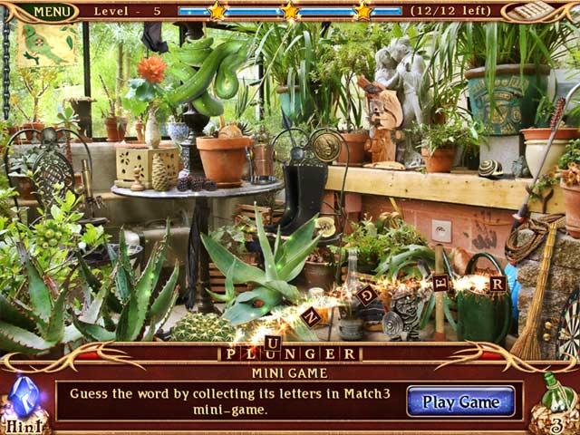 hidden object crosswords 2 screenshots 1