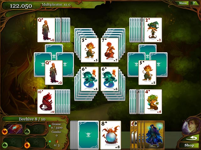 magic cards solitaire screenshots 2