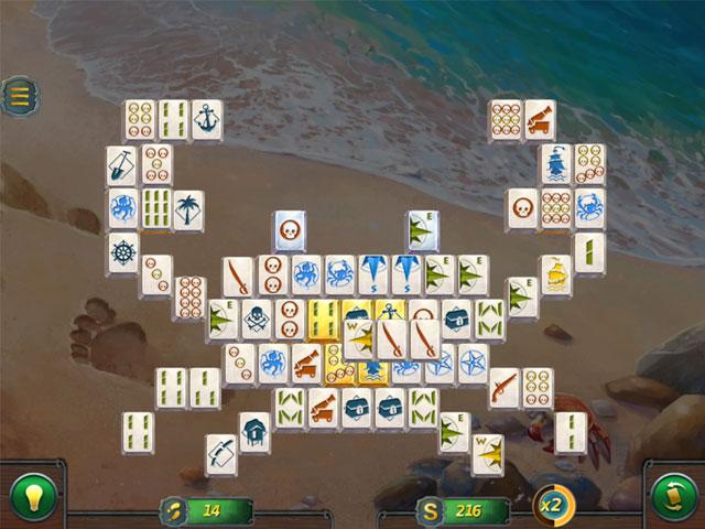 mahjong gold 2: pirates island screenshots 1