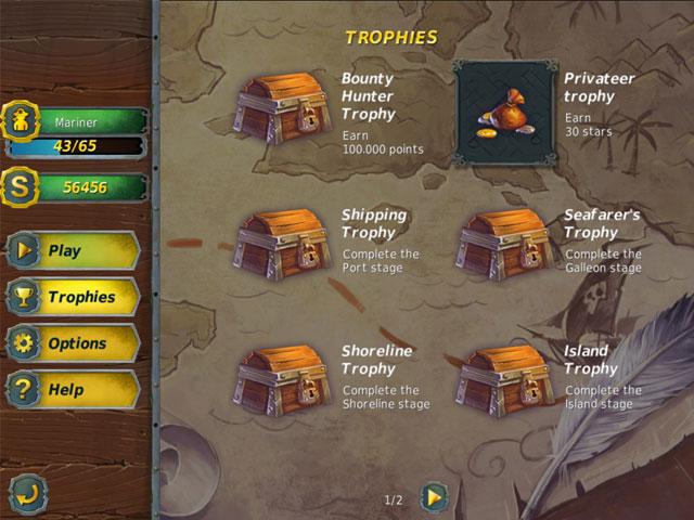 mahjong gold 2: pirates island screenshots 2
