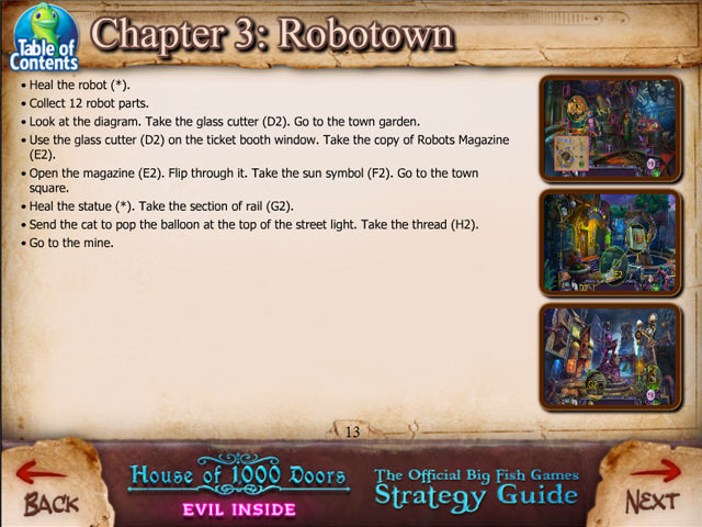 house of 1000 doors: evil inside strategy guide screenshots 3