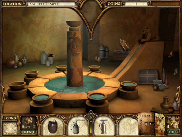 curse of the pharaoh: the quest for nefertiti screenshots 1