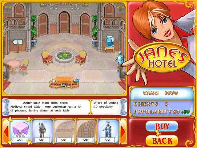 jane's hotel: family hero screenshots 2
