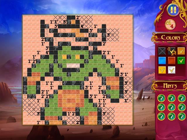 mystery mosaics screenshots 1