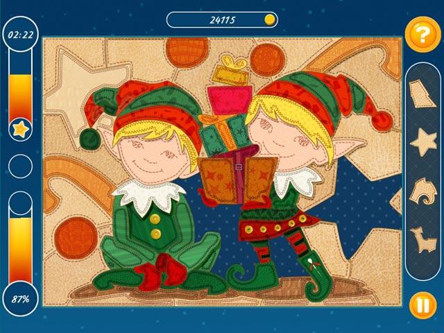 christmas mosaic puzzle screenshots 1