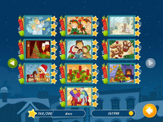 christmas mosaic puzzle screenshots 2