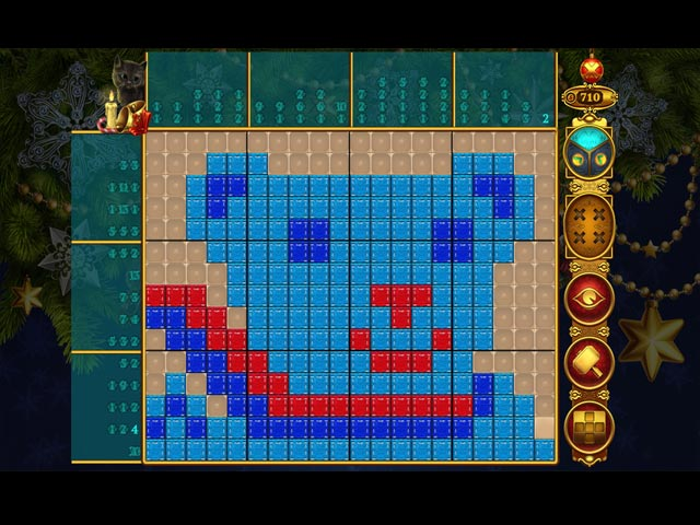 rainbow mosaics: christmas lights screenshots 2