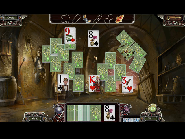 the far kingdoms: sacred grove solitaire screenshots 1