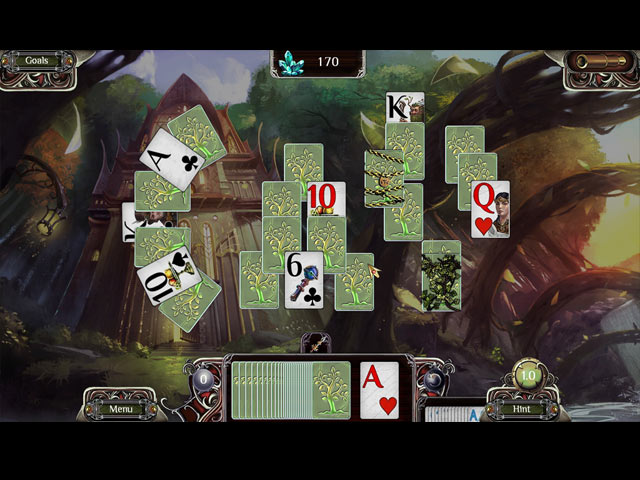 the far kingdoms: sacred grove solitaire screenshots 2