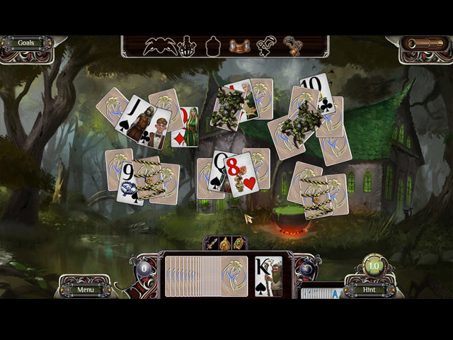 the far kingdoms: sacred grove solitaire screenshots 3