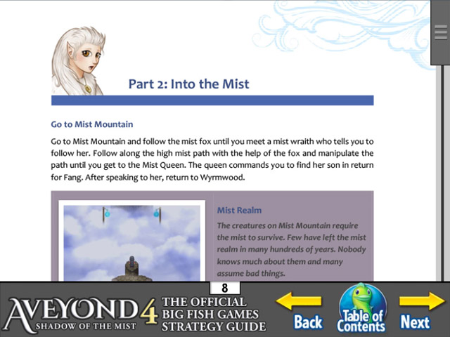 aveyond 4: shadow of the mist strategy guide screenshots 2