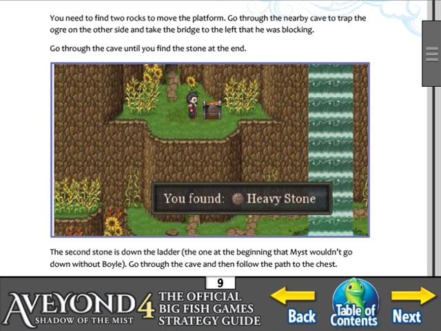 aveyond 4: shadow of the mist strategy guide screenshots 3