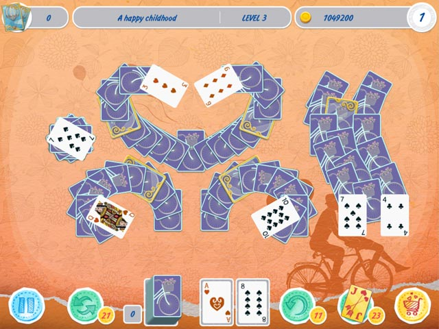 solitaire match 2 cards valentine's day screenshots 1