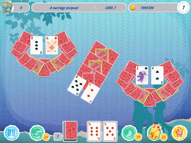 solitaire match 2 cards valentine's day screenshots 3