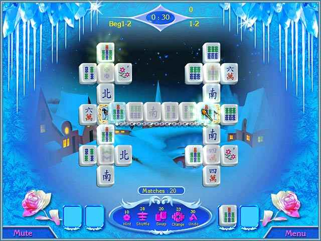 snow queen mahjong screenshots 1