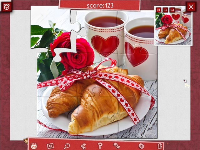 holiday jigsaw valentine's day 2 screenshots 3