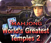 World's Greatest Temples Mahjong 2 game feature image