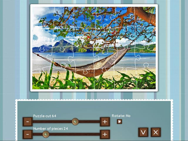 jigsaw puzzle beach season screenshots 2