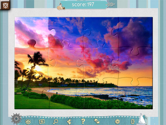 jigsaw puzzle beach season screenshots 3