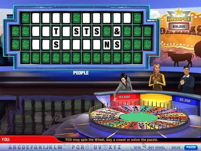 wheel of fortune 2 screenshots 1