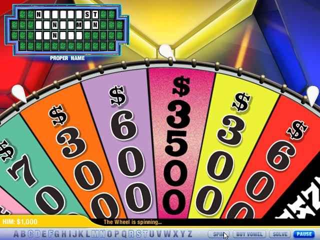 wheel of fortune 2 screenshots 2