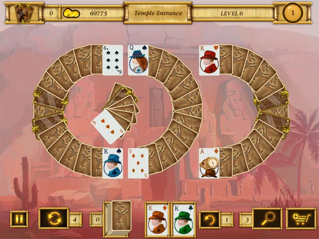 egypt solitaire match 2 cards screenshots 3