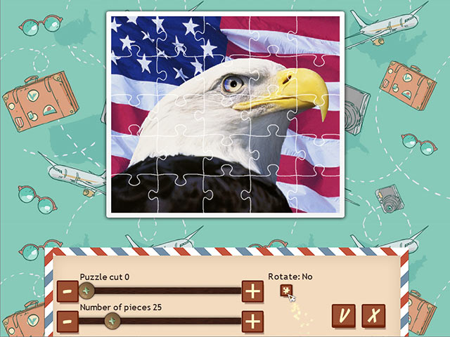1001 jigsaw world tour: american puzzle screenshots 1