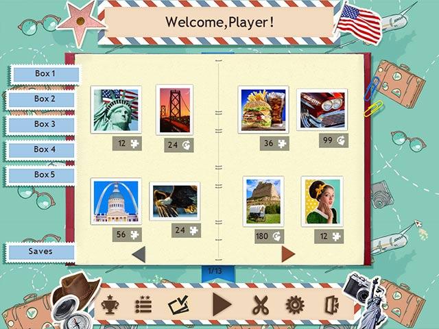 1001 jigsaw world tour: american puzzle screenshots 2