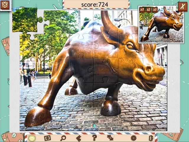 1001 jigsaw world tour: american puzzle screenshots 3