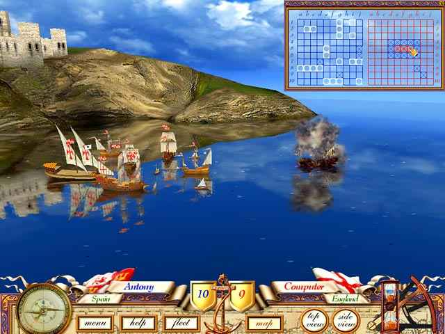 the great sea battle: the game of battleship screenshots 1