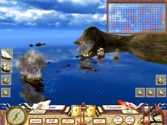the great sea battle: the game of battleship screenshots 3