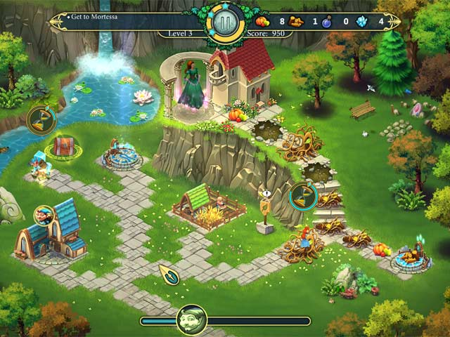 elven legend 3: the new menace screenshots 3