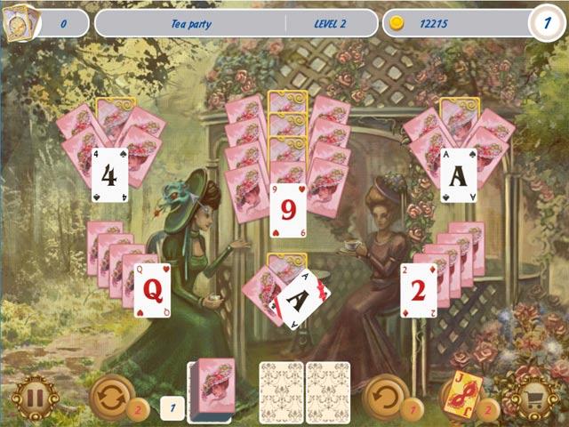 solitaire victorian picnic screenshots 1
