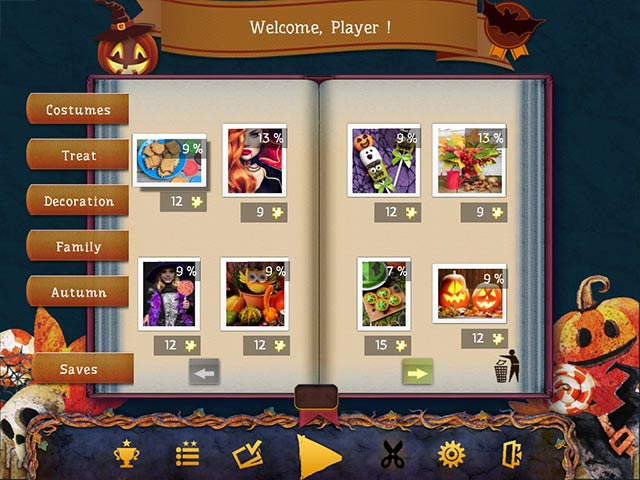 holiday jigsaw halloween 4 screenshots 2