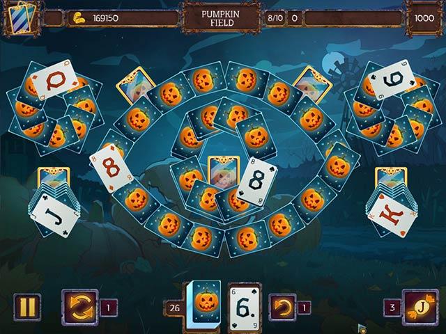 solitaire game halloween 2 screenshots 2