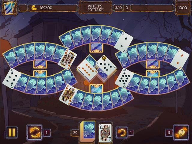 solitaire game halloween 2 screenshots 3