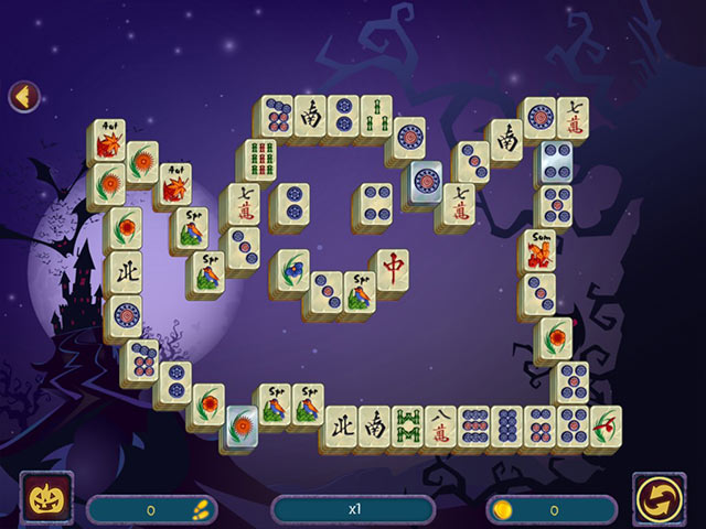 halloween night mahjong 2 screenshots 1