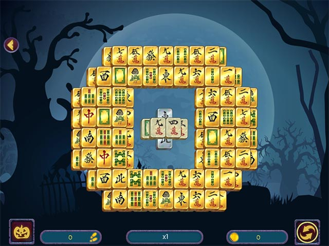 halloween night mahjong 2 screenshots 9