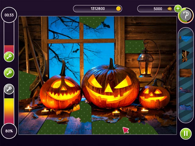 holiday mosaics halloween puzzles screenshots 1