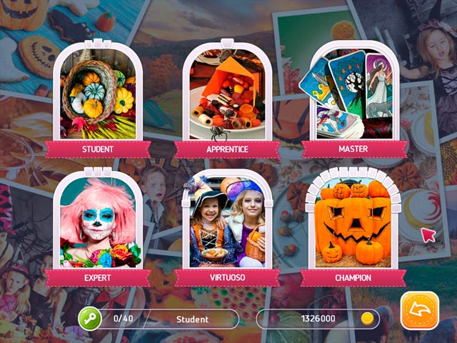 holiday mosaics halloween puzzles screenshots 2