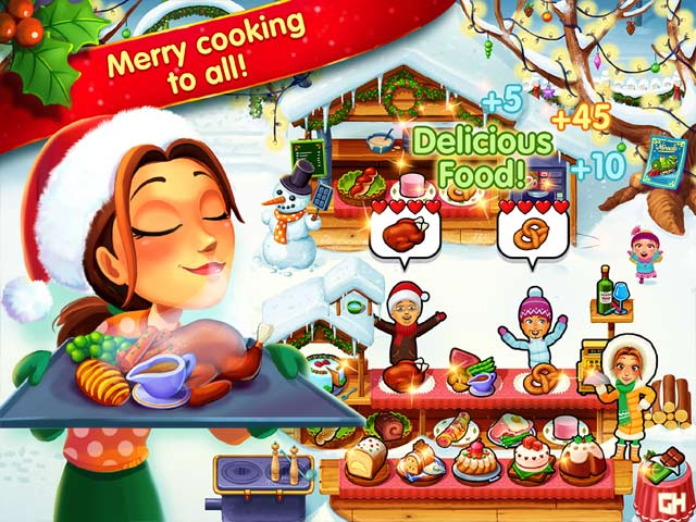 delicious: emily's christmas carol collector's edition screenshots 1