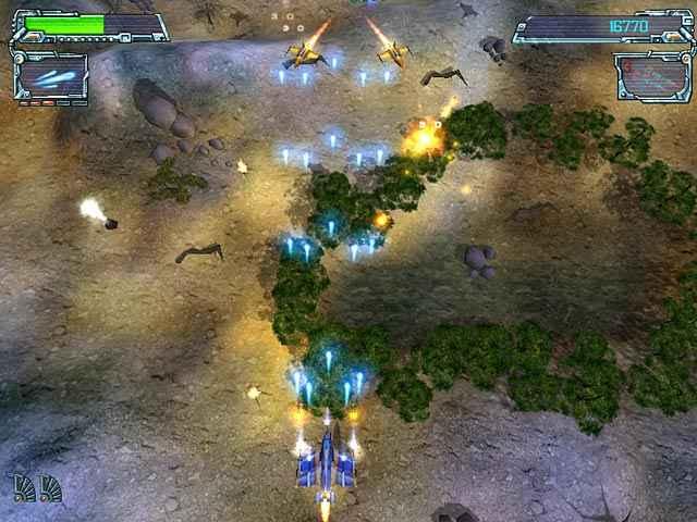 space strike screenshots 1