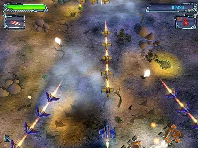 space strike screenshots 2