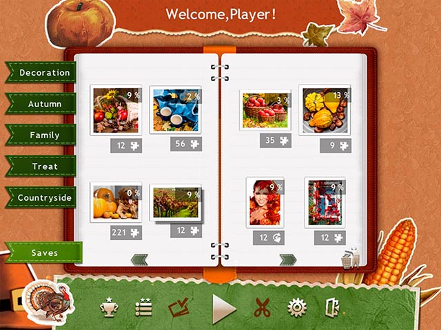 holiday jigsaw thanksgiving day 3 screenshots 2